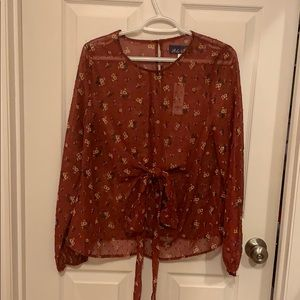 NWT Francesca's top